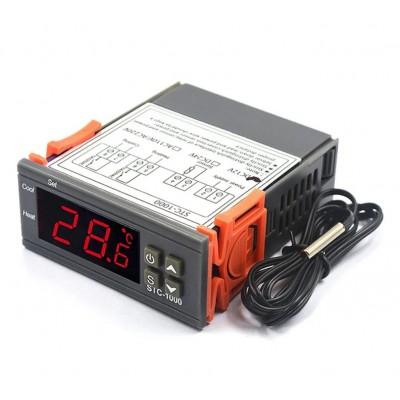Купить Регулятор температуры-термостат STC-1000 - 220V