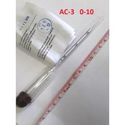 Виномер-сахаромер АС-3   0-10% - ГОСТ 18481-81