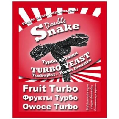 Купить DoubleSnake Fruit Turbo cпиртовые дрожжи, ОРИГИНАЛЬНЫЕ! Англия.