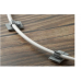 Купить Кронштейн, держатель для шланга до 10 мм, на липучке