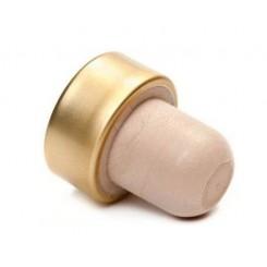 Пробка Т-образная полимерная с алюминиевой шапкой ЗОЛОТО 29*19, 25 шт