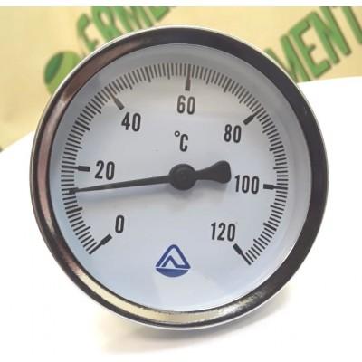 Купить Термометр биметалический ТБ-63, 0-120С