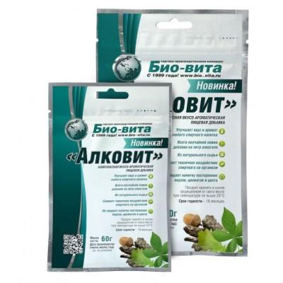 Купить «АлкоВит», 60 гр комплексная пищевая добавка (бонификатор)