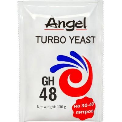 "Купить Дрожжи спиртовые ""Angel"" Turbo Yeast GH48, 130 гр. Китай."