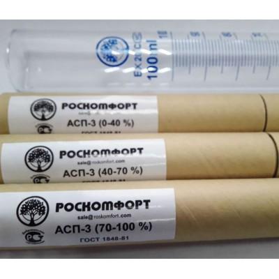 Купить Набор ареометров (Роскомфорт) АСП-3, 0-40, 40-70, 70-100 + мерный цилиндр 100 мл