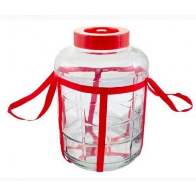 Купить Банка стеклянная с гидрозатвором 25 литров.