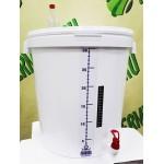Ёмкость для брожения, 32 литра, в сборе, Россия