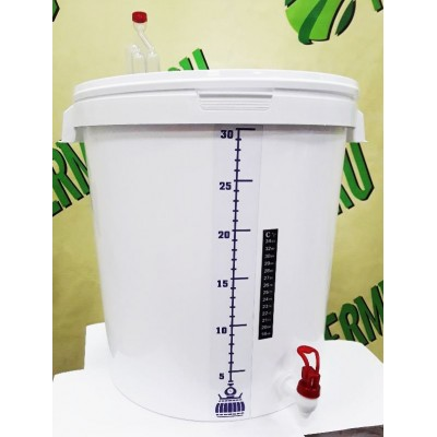 Купить Ёмкость для брожения, 32 литра, в сборе, Россия