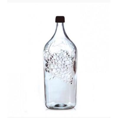 Купить Бутылка стеклянная Виноград 2000мл