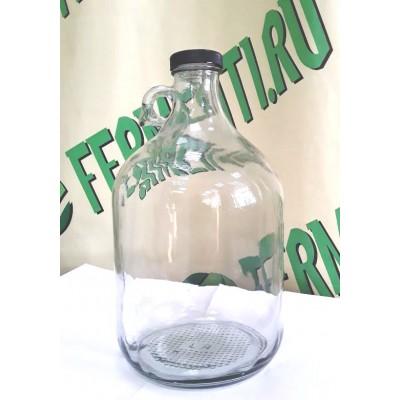 Купить Бутыль стеклянная, 5 литров