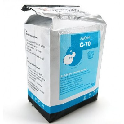 Купить SafSpirit™ C-70 -50 грамм (Бельгия) дрожжи для рома, текилы, мескаля.