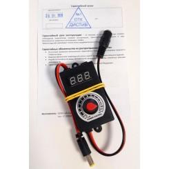 Регулятор мощности с вольтметром для фильтрующих установок  ДИСТИВ