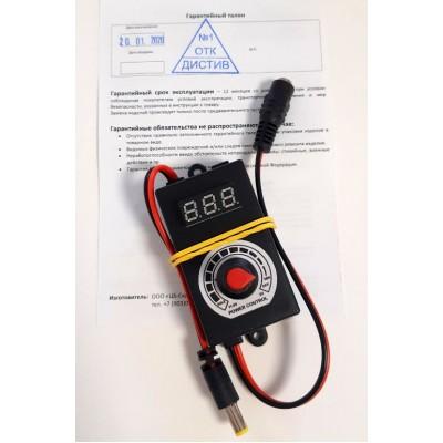 Купить Регулятор мощности с вольтметром для фильтрующих установок  ДИСТИВ
