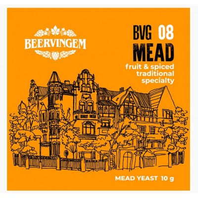 """Купить Beervingem """"Mead"""", Дрожжи для медовухи, 10 г"""