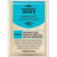 """Mangrove Jack's """"Bavarian Lager M76"""", 10 г пивные дрожжи."""