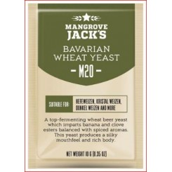 "Mangrove Jack's ""Belgian Ale M20"", 10 г пивные дрожжи."
