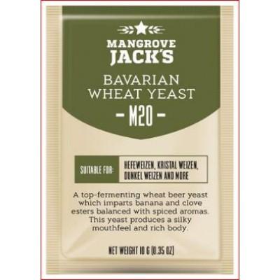 """Купить Mangrove Jack's """"Belgian Ale M20"""", 10 г пивные дрожжи."""