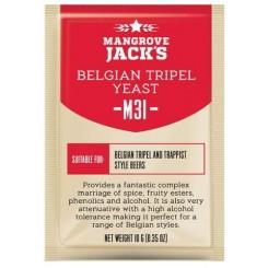 "Mangrove Jack's ""Belgian Tripel M31"", 10 г пивные дрожжи."