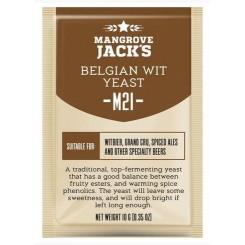 "Mangrove Jack's ""Belgian Wit M21"", 10 г пивные дрожжи."