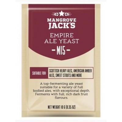 """Купить Mangrove Jack's """"Empire Ale M15"""", 10 г пивные дрожжи."""