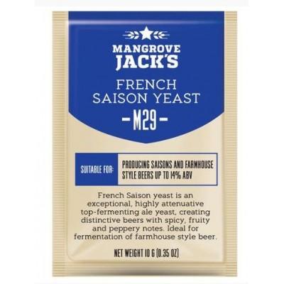 """Купить Mangrove Jack's """"French Saison M29"""", 10 г.  пивные дрожжи на 23 литра."""