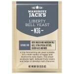 "Mangrove Jack's ""Liberty Bell Ale M36"", 10 г пивные дрожжи."