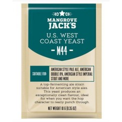 "Mangrove Jack's ""US West Coast M44"", 10 г пивные дрожжи."
