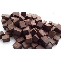 Дубовые кубики для дистиллятов средняя обжарка (Кавказ), 100 г