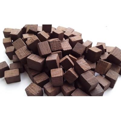 Купить дубовые кубики для дистиллятов средняя обжарка (Кавказ), 100 г