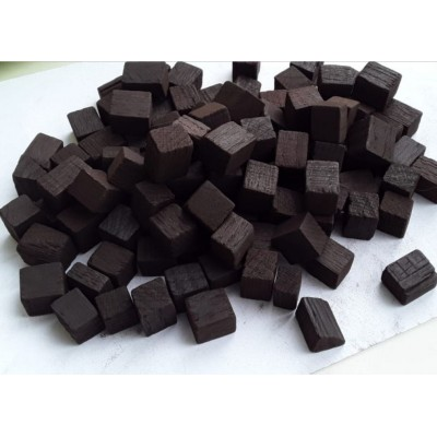Купить дубовые кубики для дистиллятов, сильная обжарка  (Кавказ), 100 г