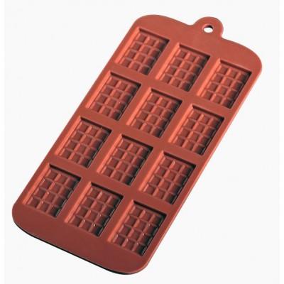 """Форма силиконовая для шоколада """"Маленькие плитки"""""""