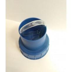 Крышка с гидрозатвором для 20-22 литровой стеклянной бутыли.
