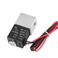 Клапан электромагнитный 220V нерж