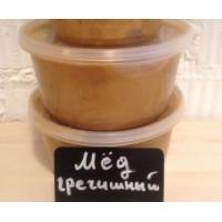 Мед, гречиха + разнотравье, 1,5 кг, Алтай.