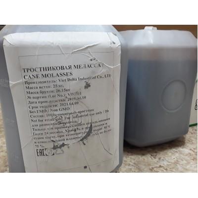 Купить Меласса тростниковая, 25кг, канистра, Вьетнам.