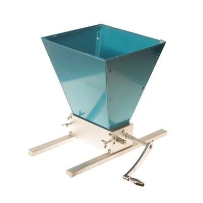Купить Мельница двухвальцовая с бункером на полозьях (нерж. сталь)