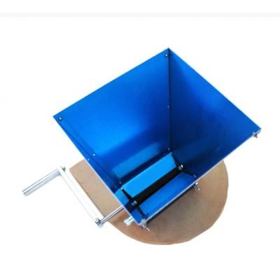Купить Мельница двухвальцовая с бункером и подставкой (нерж. сталь)