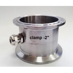 Вставка Clamp 2 с нипелем под термометр.