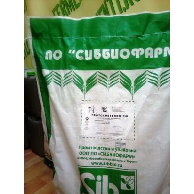 Купить протосубтилин Г3х ( А- 120 ед./г)  20 кг (мешок, заводская упаковка)