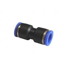 Фитинг переходник  с 10 мм на 12 мм для пневмошланга.
