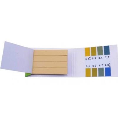 Купить Тест полоски 5.4 - 7.0 pH отрывные, 80 штук