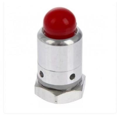 Клапан избыточного давления, 13 мм, красный.