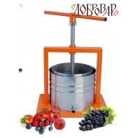 Пресс винный фруктово-ягодный настольный 5 л (трапецевидная резьба)