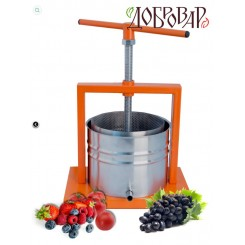 Пресс фруктово-ягодный настольный 5 л (метрическая резьба)