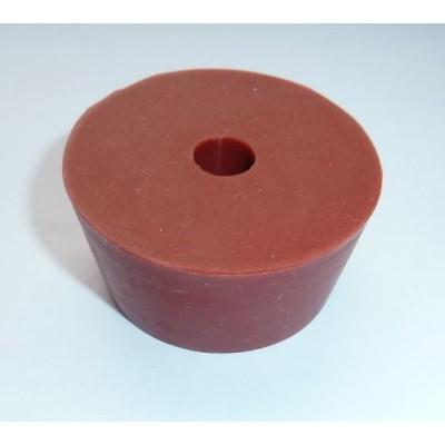 Купить Пробка силиконовая  под гидрозатвор для 19 литровой бутыли  (Ø51х43, h24)