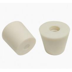 Пробка резиновая коническая без отверстия (Ø43,5x35, h40)