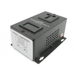 Регулятор напряжения 10 кВт, дисплей