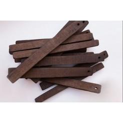 Дубовые сегменты  для дистиллятов сильный обжиг 12х1,3х1,3 (Кавказ), 100 г