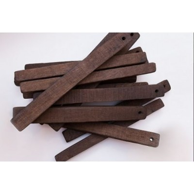 Купить Дубовые сегменты  для дистиллятов сильный обжиг 12х1,3х1,3 (Кавказ), 100 г