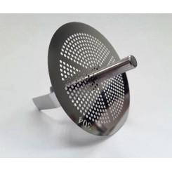 Сеточка-фильтр  для воронки из нержавеющей стали.